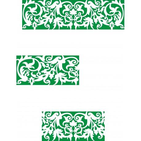 Cnc Panel Laser Cut Pattern File cn-h309 Free CDR Vectors Art
