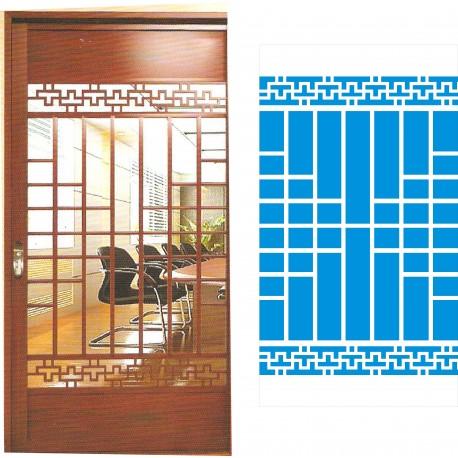 Cnc Panel Laser Cut Pattern File cn-h300 Free CDR Vectors Art