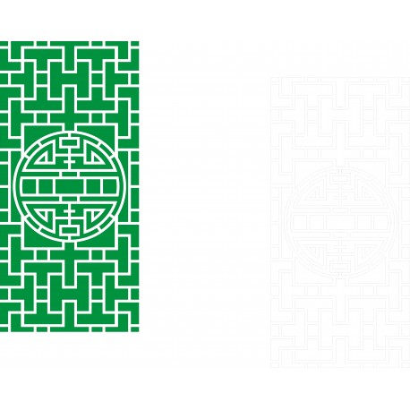 Cnc Panel Laser Cut Pattern File cn-h280 Free CDR Vectors Art