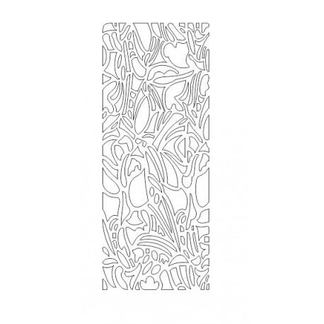 Cnc Panel Laser Cut Pattern File cn-h258 Free CDR Vectors Art