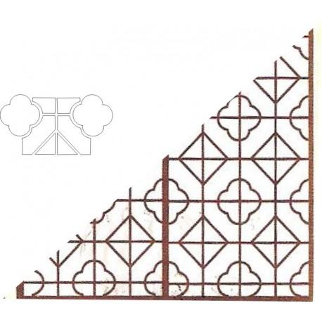 Cnc Panel Laser Cut Pattern File cn-h256 Free CDR Vectors Art
