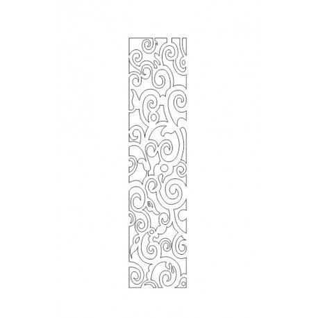 Cnc Panel Laser Cut Pattern File cn-h253 Free CDR Vectors Art