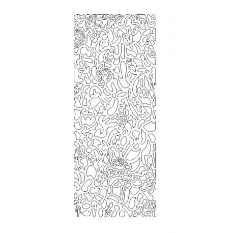 Cnc Panel Laser Cut Pattern File cn-h249 Free CDR Vectors Art