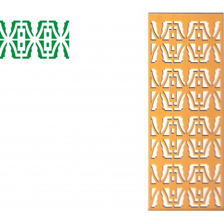 Cnc Panel Laser Cut Pattern File cn-h247 Free CDR Vectors Art