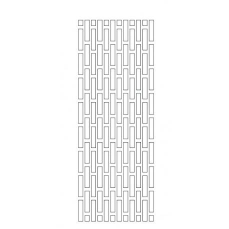 Cnc Panel Laser Cut Pattern File cn-h243 Free CDR Vectors Art