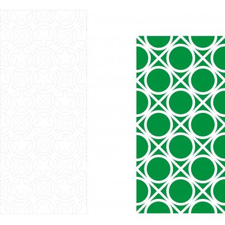 Cnc Panel Laser Cut Pattern File cn-h234 Free CDR Vectors Art