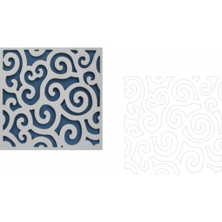 Cnc Panel Laser Cut Pattern File cn-h213 Free CDR Vectors Art