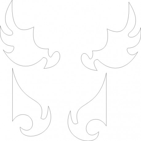 Cnc Panel Laser Cut Pattern File cn-h212 Free CDR Vectors Art