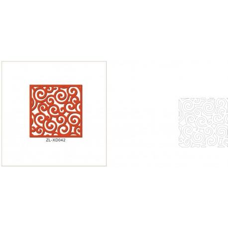 Cnc Panel Laser Cut Pattern File cn-h209 Free CDR Vectors Art