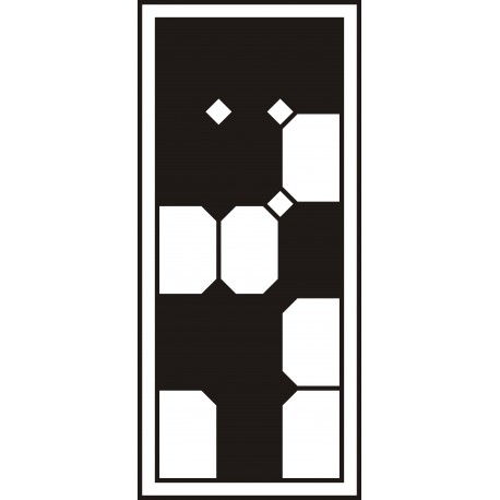 Cnc Panel Laser Cut Pattern File cn-h206 Free CDR Vectors Art