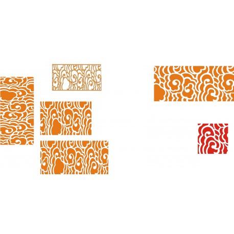 Cnc Panel Laser Cut Pattern File cn-h189 Free CDR Vectors Art