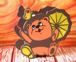 Bear Pencil Box File Download For Cnc Cut Free CDR Vectors Art