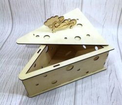 Box Of Pieces Of Cheese File Download For Laser Cut Free CDR Vectors Art