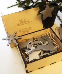 Decorations Box File Download For Laser Cut Free CDR Vectors Art
