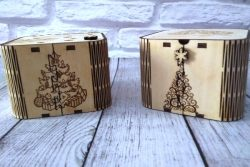 Gift Box File Download For Laser Cut Free CDR Vectors Art