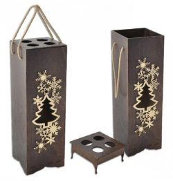 Tree Box For Wine File Download For Laser Cut Free CDR Vectors Art
