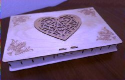 Jewelry Box File Download Laser Cut Free CDR Vectors Art
