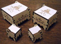 Jewelry Box File Download For Lasercut Free CDR Vectors Art