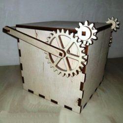 Mechanical Box File Download For Laser Cut Free CDR Vectors Art
