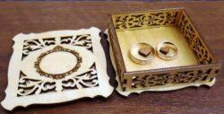 Ring Box File Download For Laser Cut Free CDR Vectors Art