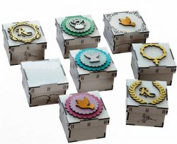 Unique Gift Box Model File Download For Laser Cut Free CDR Vectors Art
