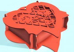 Heart Box Vector Free CDR Vectors Art
