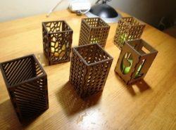 Unique Night Light Box Patterns Free CDR Vectors Art