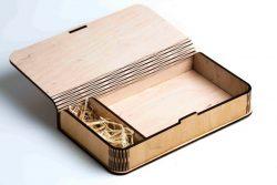 Wooden Box File Download For Lasercut Cnc Free CDR Vectors Art