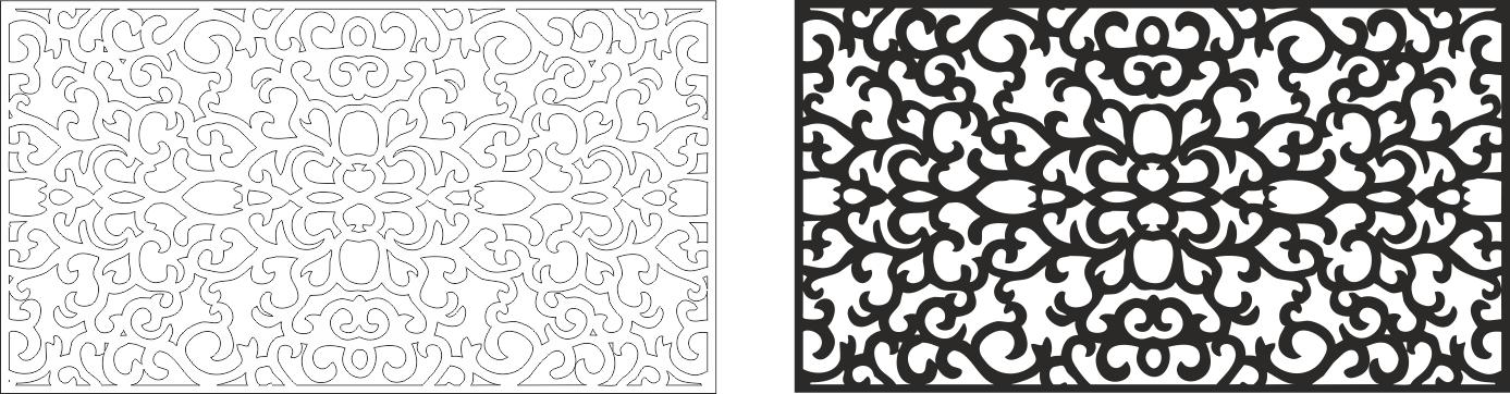 Laser Cut Art File Free CDR Vectors Art