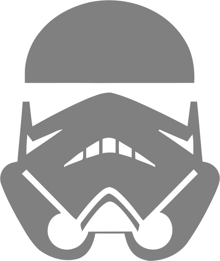 Stormtrooper Star Wars Sticker File Free CDR Vectors Art