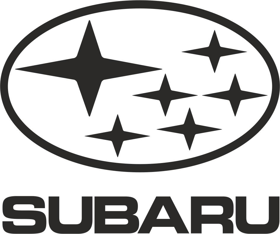 Subaru Logo File Free CDR Vectors Art