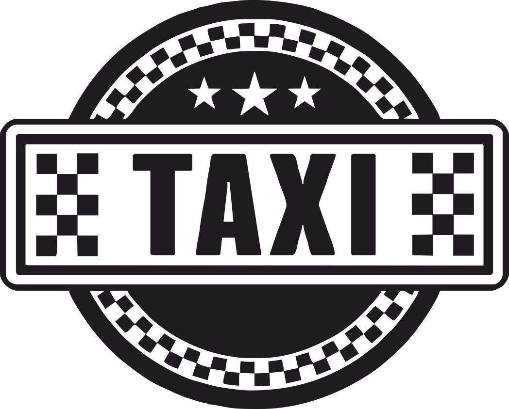 Taxi Sign Art File Free CDR Vectors Art