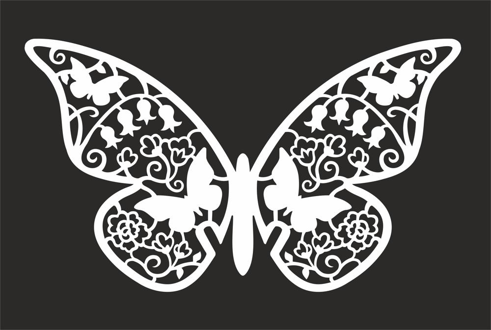 Butterfly Design Art File Free CDR Vectors Art