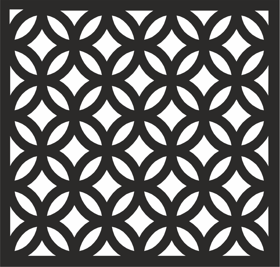 Decorative Wall Panel File Free CDR Vectors Art