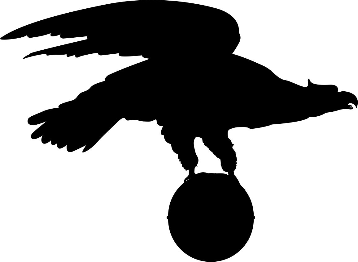 Eagle Silhouette File Free CDR Vectors Art