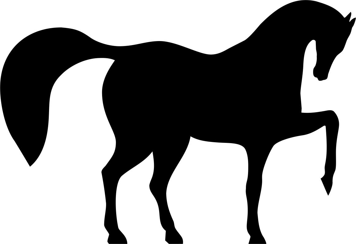 Horse Dancing File Free CDR Vectors Art