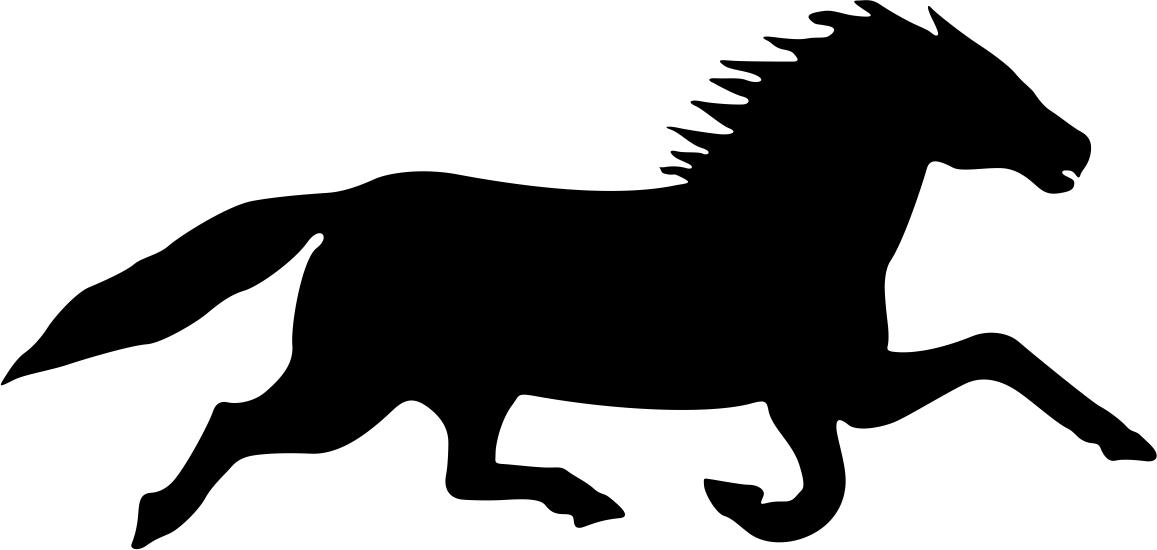 Horse Running File Free CDR Vectors Art