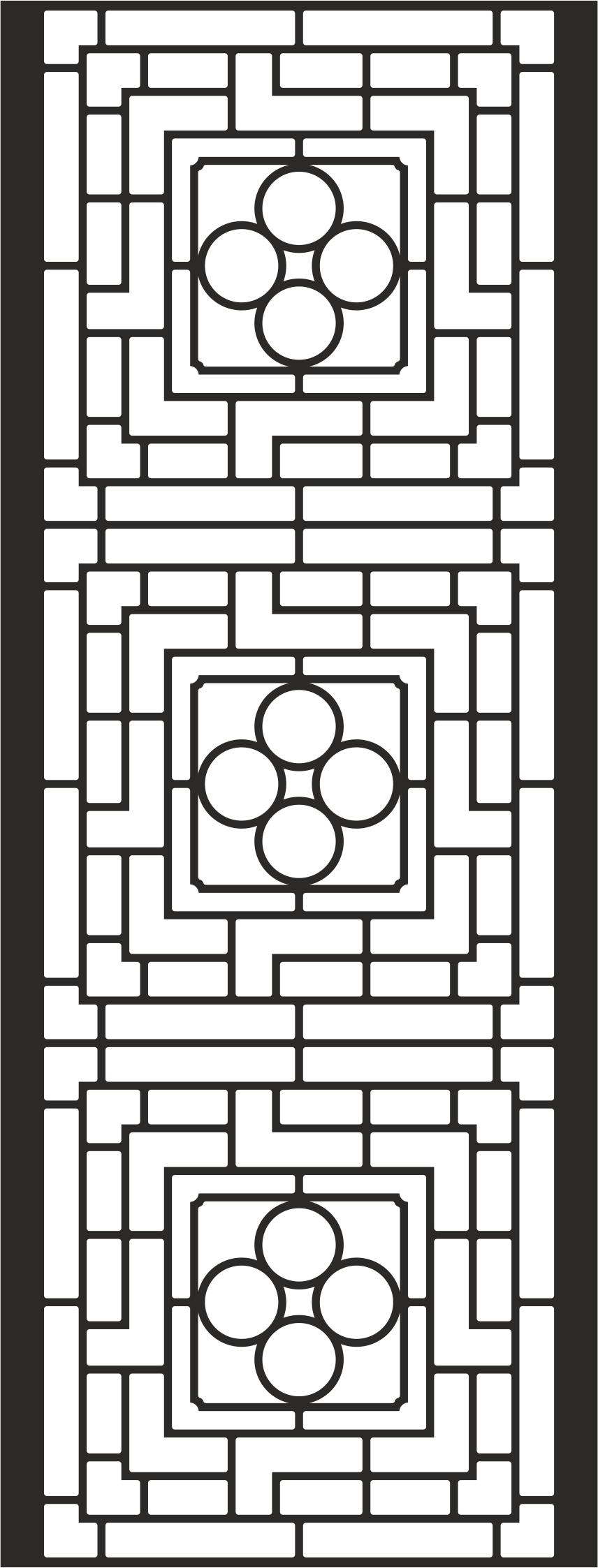 Iron Window Grills File Free CDR Vectors Art