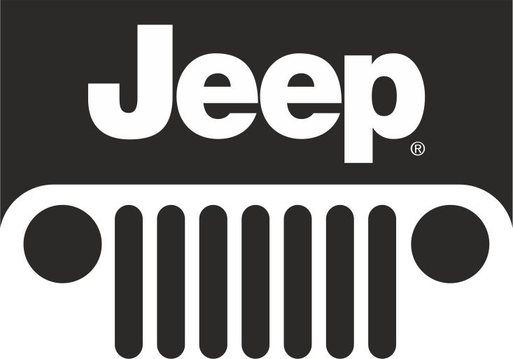 Jeep Logo Sticker File Free CDR Vectors Art