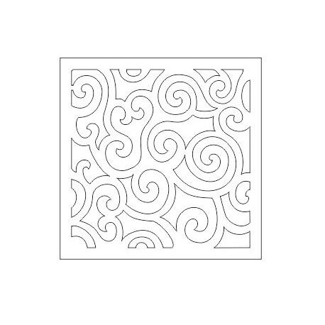 Cnc Panel Laser Cut Pattern File cn-h177 Free CDR Vectors Art