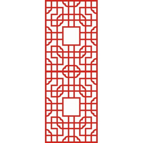 Cnc Panel Laser Cut Pattern File cn-h144 Free CDR Vectors Art