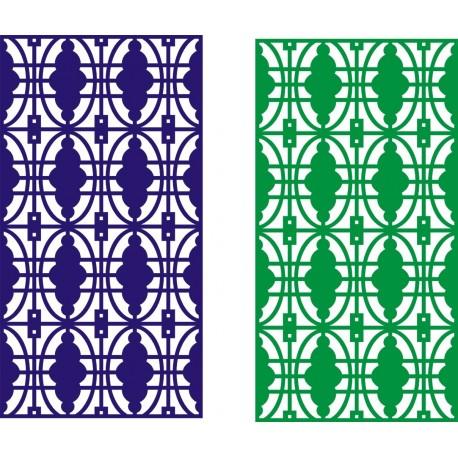 Cnc Panel Laser Cut Pattern File cn-h129 Free CDR Vectors Art