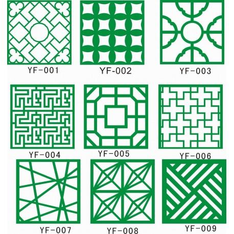Cnc Panel Laser Cut Pattern File cn-h125 Free CDR Vectors Art
