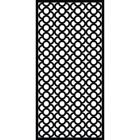 Cnc Panel Laser Cut Pattern File cn-h107 Free CDR Vectors Art