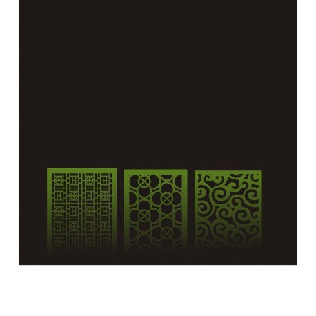 Cnc Panel Laser Cut Pattern File cn-h093 Free CDR Vectors Art