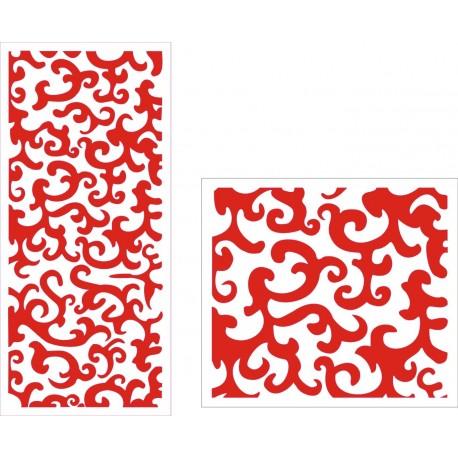 Cnc Panel Laser Cut Pattern File cn-h065 Free CDR Vectors Art