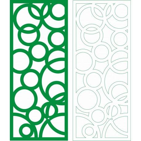 Cnc Panel Laser Cut Pattern File cn-h053 Free CDR Vectors Art