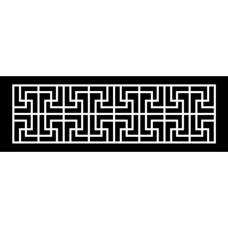 Cnc Panel Laser Cut Pattern File cn-h034 Free CDR Vectors Art