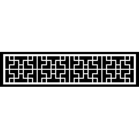 Cnc Panel Laser Cut Pattern File cn-h033 Free CDR Vectors Art