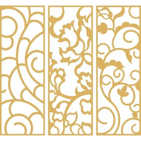 Cnc Panel Laser Cut Pattern File cn-h022 Free CDR Vectors Art